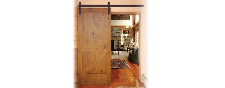Prefinished Interior Barn Door